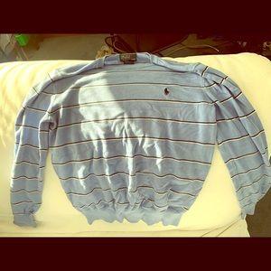 Kids Long Sleeved Polo Sweater